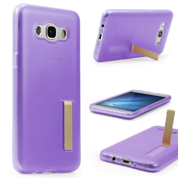Urcover® Samsung Galaxy J5 (2016) Schutz Hülle mit Standfunktion Soft Case Cover