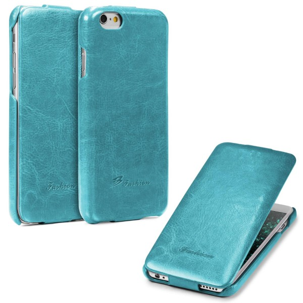 Apple iPhone 6 / 6s Tasche Case Cover Schutzhülle Wallet Kunst-Leder Etui Schale