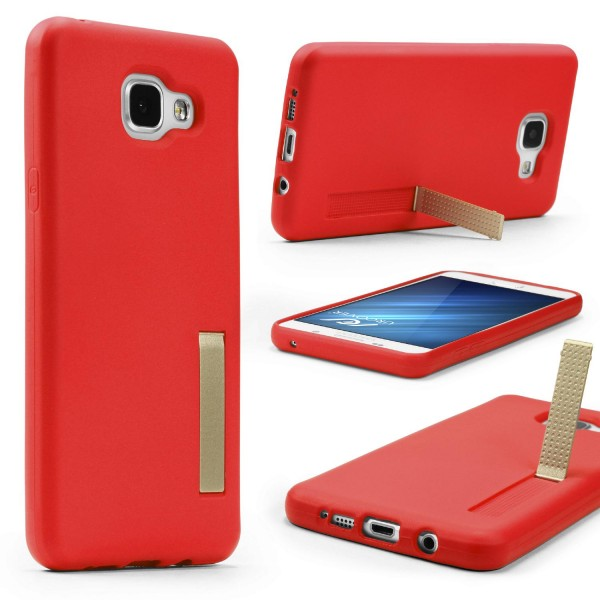 Urcover® Samsung Galaxy A7 (2016) Schutz Hülle mit Standfunktion Soft Case Cover