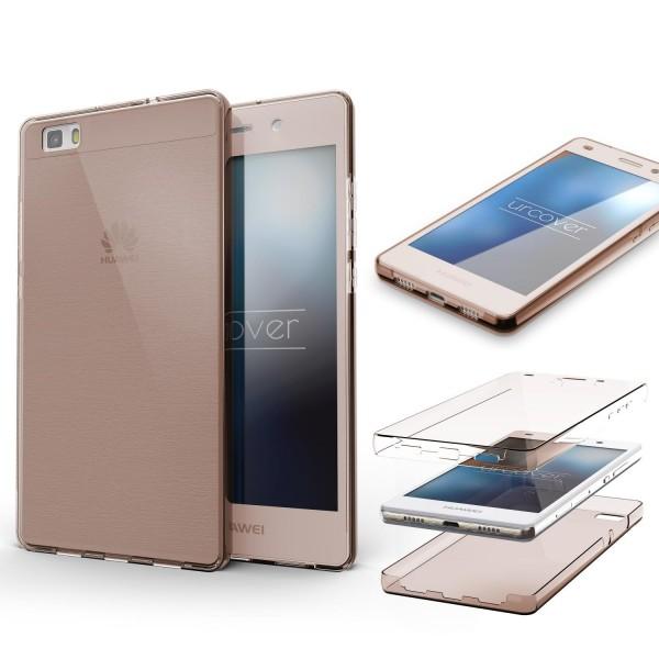 Huawei P8 Lite TPU Case 360° Grad rundum Schutz Hülle Etui Cover Touch Case