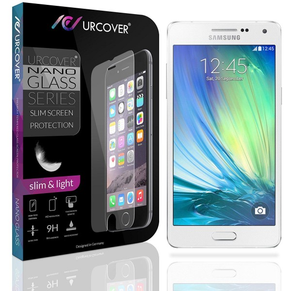 Samsung Galaxy A3 (2015) Echt Glas Panzer Display Schutz Folie Ultra Slim Clear