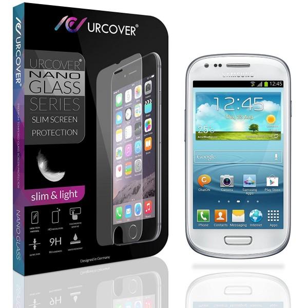 Samsung Galaxy S3 Mini Echt Glas Panzer Display Schutz Folie Ultra Slim Clear