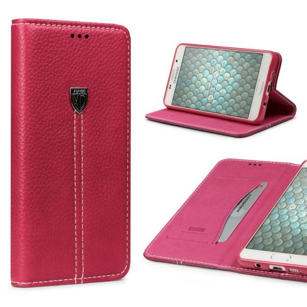 Samsung Galaxy A7 (2016) Schutz Hülle Wallet Case Flip Cover Kartenfach Schale