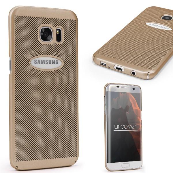 Urcover® Samsung Galaxy S7 Edge Premium Handyhülle Mash Cover Case Slim Tasche