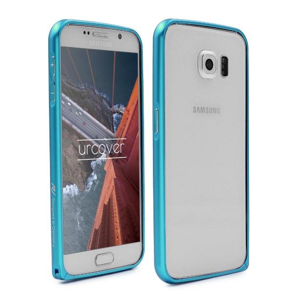 Urcover® Samsung Galaxy S6 Alu Bumper Schutz Hülle Case Cover Tasche Etui Schale