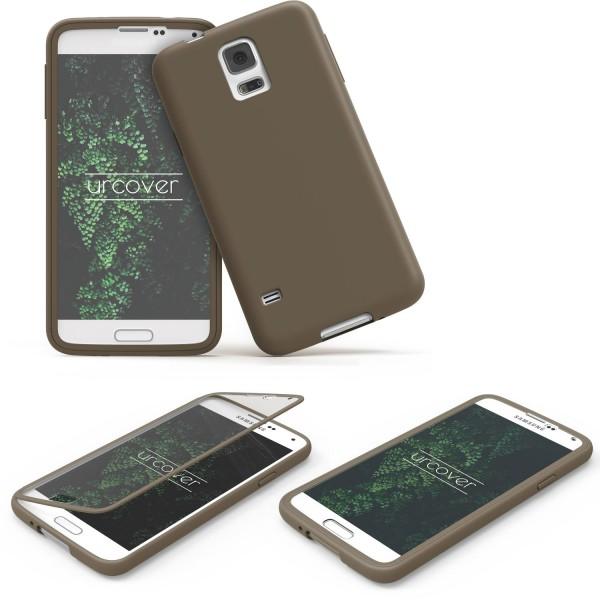 Samsung Galaxy S5 TOUCH CASE Display Schutz Hülle Schale Rundum Cover Tasche
