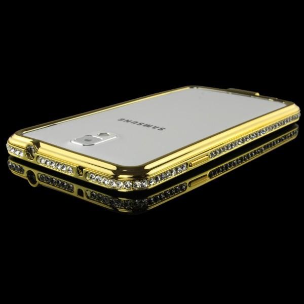 Urcover® Samsung Galaxy Note 3 Alu Handy Schutz Hülle Bumper Hard Case Cover
