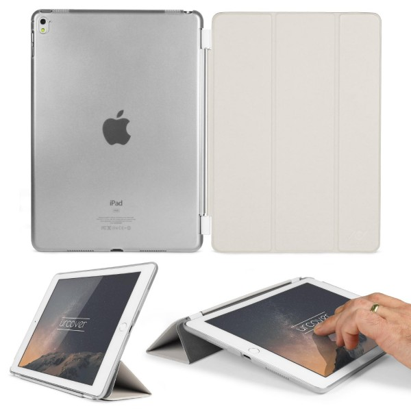 Apple iPad Pro 9.7 Zoll Cover Transparent Stand-Funktion Tablet Schutz-Hülle