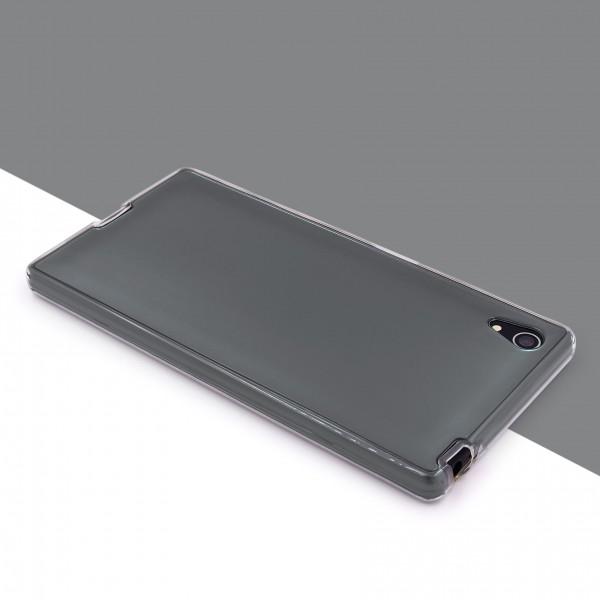 Sony Xperia Z5 Plus 360 GRAD RUNDUM SCHUTZ Metalloptik TPU Hülle Cover Case Etui