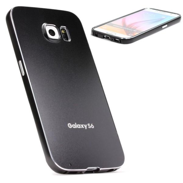 Urcover® Samsung Galaxy S6 Alu Handy Schutz Hülle Full Metal Case Cover Tasche