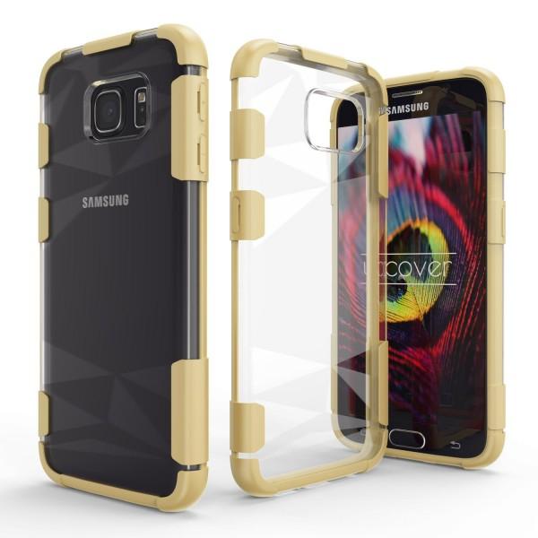 Urcover® Samsung Galaxy S6 Schutz Hülle Slim Kameraschutz Hard Case Cover Tasche