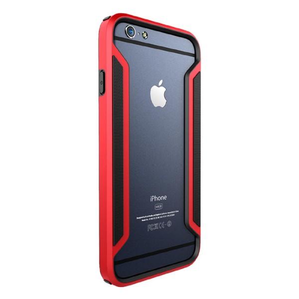 Urcover® Apple iPhone 6 / 6s Kunststoff Schutzhülle Backcase Cover Bumper Tasche