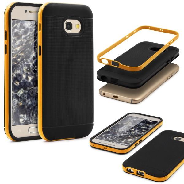 Samsung Galaxy A5 (2017) Schutz Hülle Carbon Style Karbon Optik TPU Case Cover