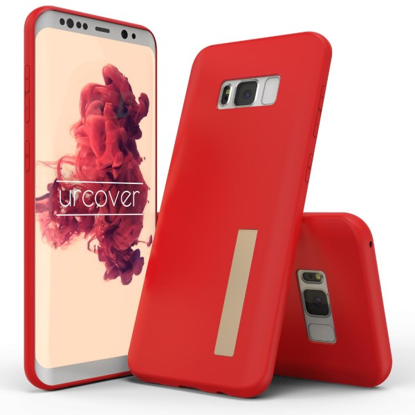 Urcover® Samsung Galaxy S8 Plus TPU Case Standfunktion Schutz Hülle Cover Case Etui Schale