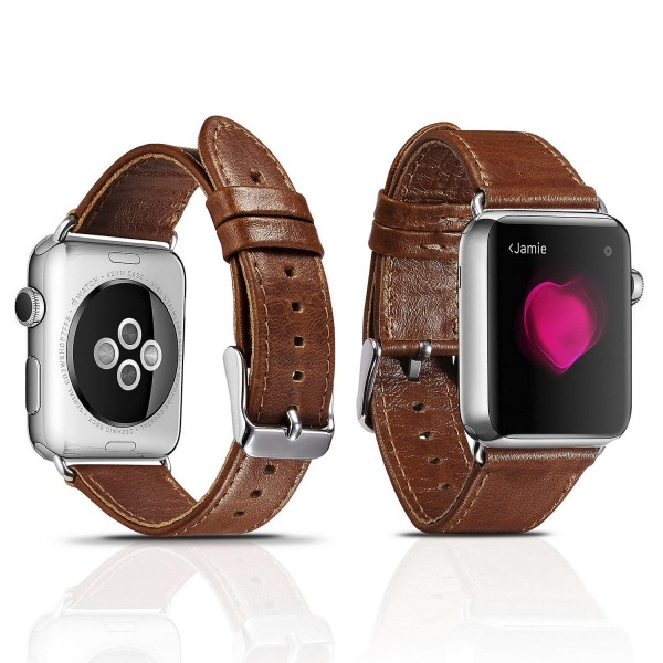 Urcover® Uhrenband Apple Watch 38mm Uhrenarmband Vintage Retro