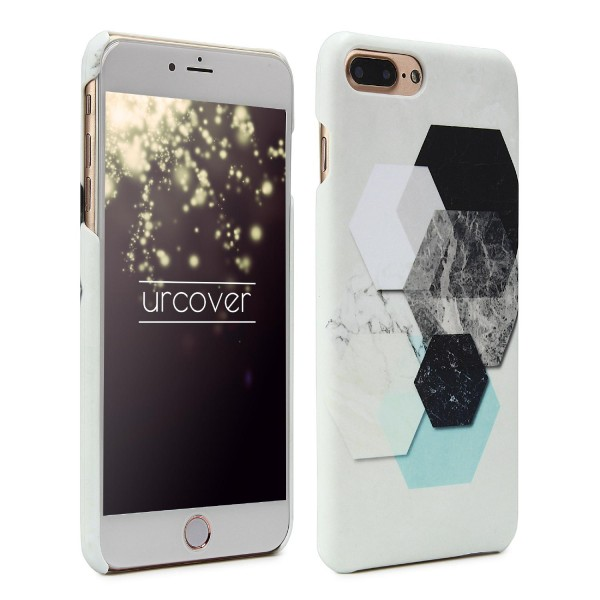 Urcover® Apple iPhone 7 Plus Geometric Hard Cover Case Muster Abstrakt Schutz