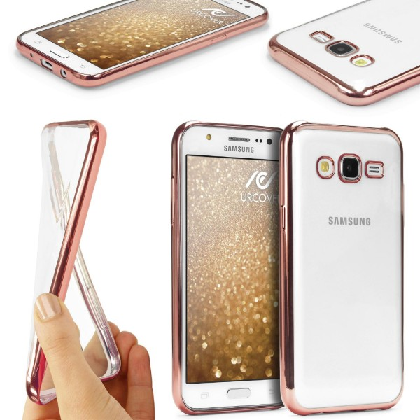 Samsung Galaxy J5 (2016) Silikon Handy Schutzhülle Spiegel Back Case