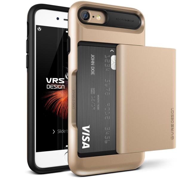 VRS Design® Apple iPhone 7 TPU Back Case Cover Schutz Hülle Standfunktion Etui