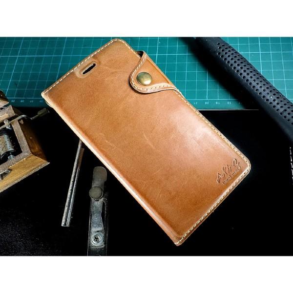 Akira Handmade Echt Leder Handy Schutz Hülle Sony Xperia Z5 Compact Flip Cover