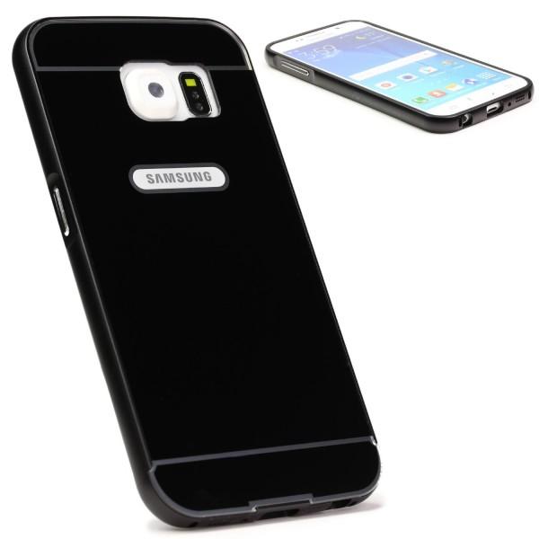 Ucover® Aluminium Handy Schutz Hülle für Samsung Galaxy S6 Bumper Case Cover
