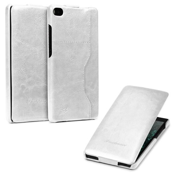 Huawei P8 Handy Klapp Tasche Flip Case Cover Schutzhülle Etui Wallet Kunst-Leder