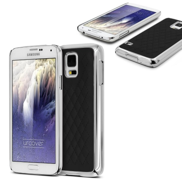 Urcover Samsung Galaxy S6 Schutz Hülle Slim Case Cover Steppmuster Schale Etui