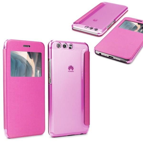 Huawei P10 View Case klar Schutz Hülle Cover Etui Handytasche Schale ultra dünn