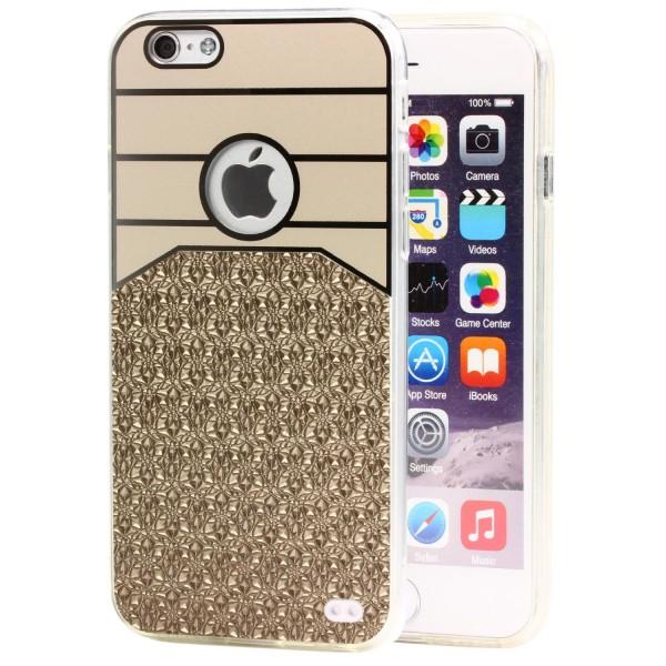 Urcover® Handy Schutz Hülle für Apple iPhone 6 / 6s Shiny Glitzer Back Case Cover Tasche
