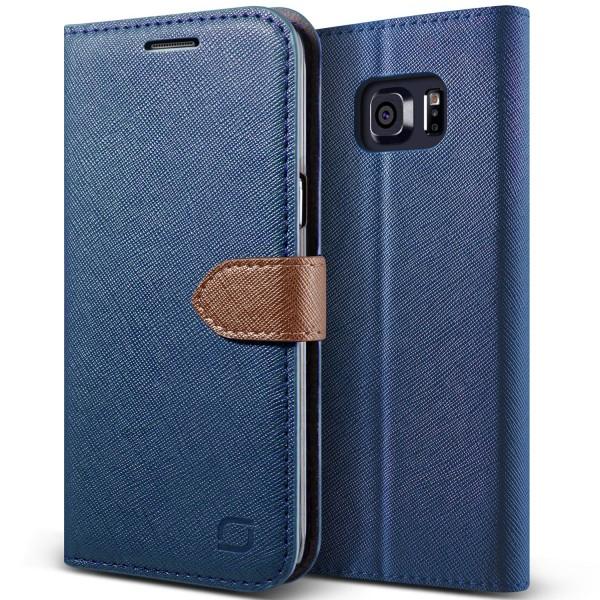 Urcover® Samsung Galaxy S6 Edge Plus Klapp Schutz Hülle Flip Wallet Case Cover
