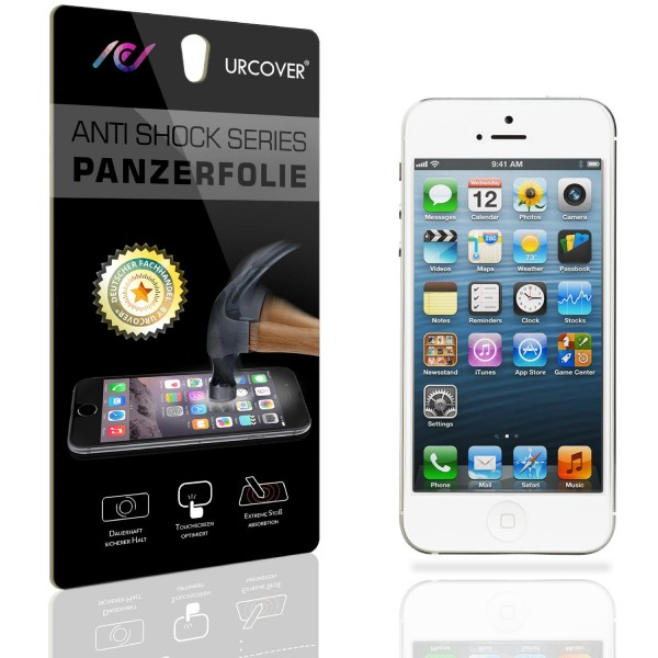 Apple iPhone 5 / 5s / SE Display Schutz Folie Ultra Klar PET Handy Schutzfolie Clear