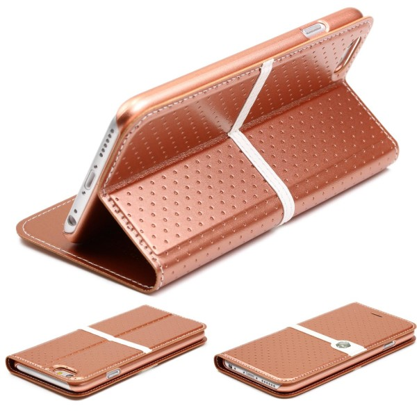 Urcover® Apple iPhone 6 / 6s Schutzhülle Wallet Flip Cover Case Etui Stand Schale