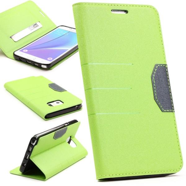 Samsung Galaxy Note 5 Handy Schutz Hülle Standfunktion Kartenfach Case Cover