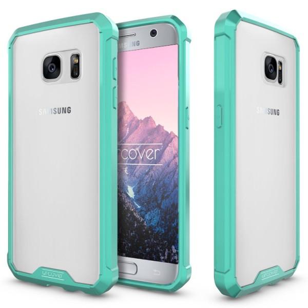 Samsung Galaxy S7 Schutz Hülle ULTRA SLIM Case Cover klar transparent Schale TPU