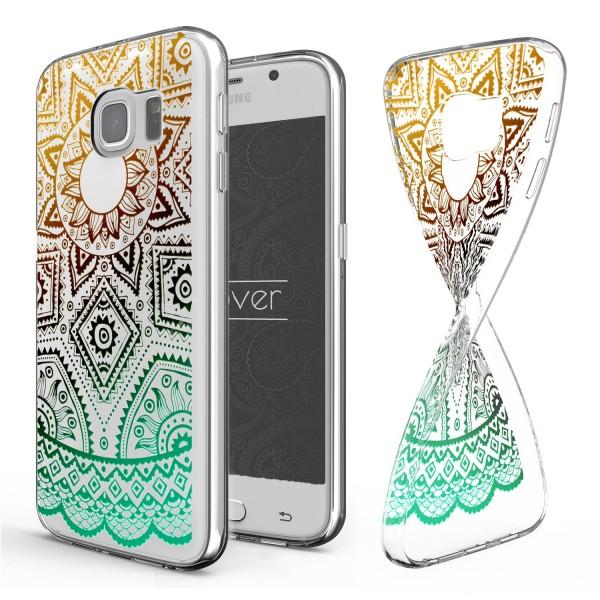 Urcover® Samsung Galaxy S6 Schutz Hülle Case Cover Tasche Silikon Soft Schale