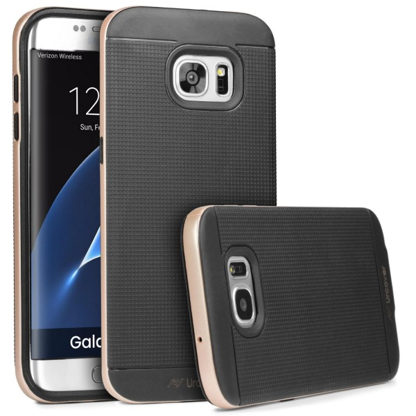 Samsung Galaxy S7 Edge Urcover® Case Slim Dual Layer Handy Schutz Hülle Case