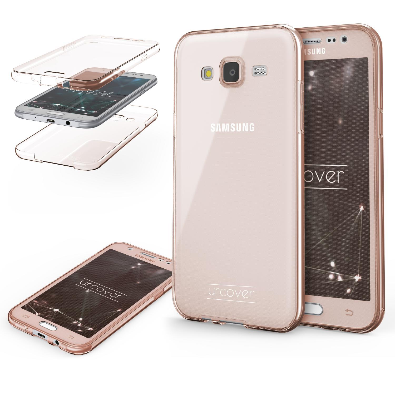 Samsung Galaxy J7 2015 TPU Case 360 Grad Schutz Hülle Etui Cover Touch Case Backcase Galaxy J7 2015 Smartphone Samsung