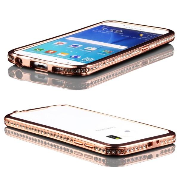 Urcover® Samsung Galaxy S6 Alu Handy Schutz Hülle Bumper Hard Case Cover