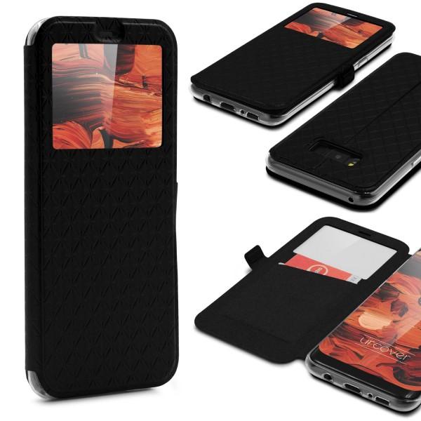 Samsung Galaxy S8 Sichtfenster Wallet Schutzhülle View Cover Flip Case Etui