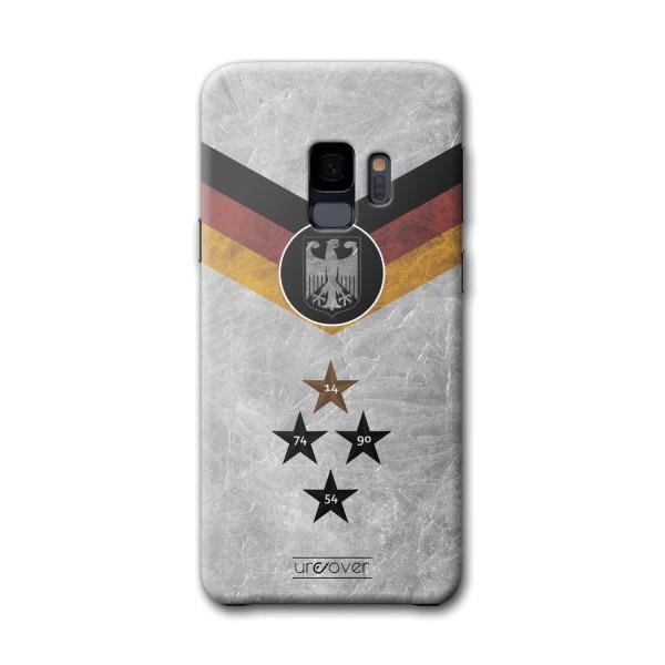 Samsung Galaxy S9 Deutschland Russland WM Hülle Fußball Cover Fan Case Etui