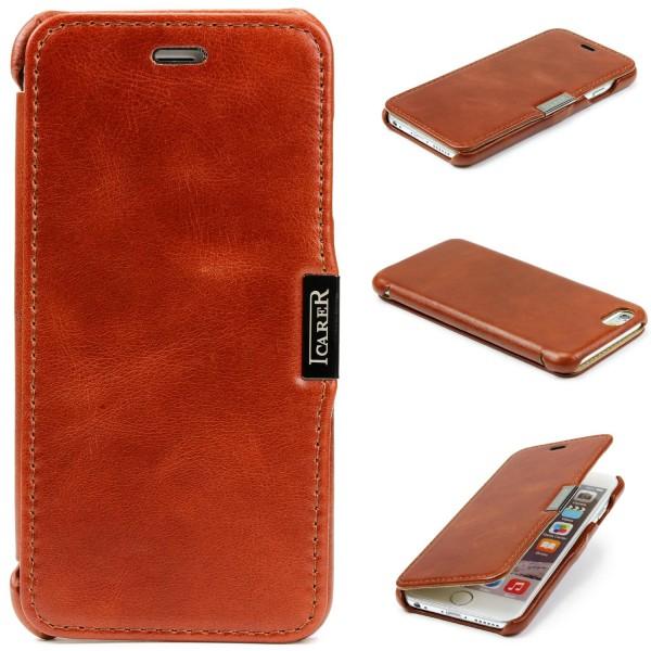 Urcover® Apple iPhone 6 / 6s Kartenfach Schutzhülle Case Cover Etui Tasche