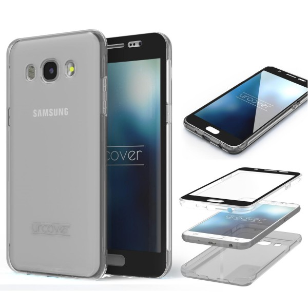 Samsung Galaxy J7 (2016) Touch Case 2018 von Galileo rundum Schutz Hülle Cover