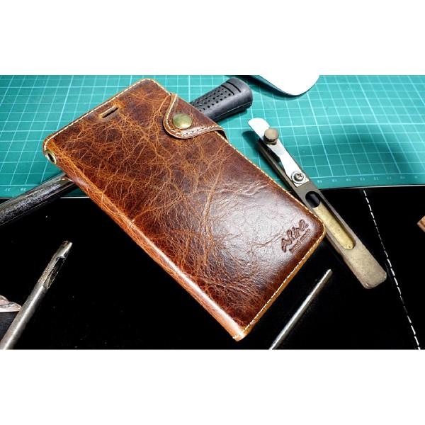 Apple iPhone 6 / 6s Handgemachte Echt Leder Schutz Hülle Case Cover Etui Tasche