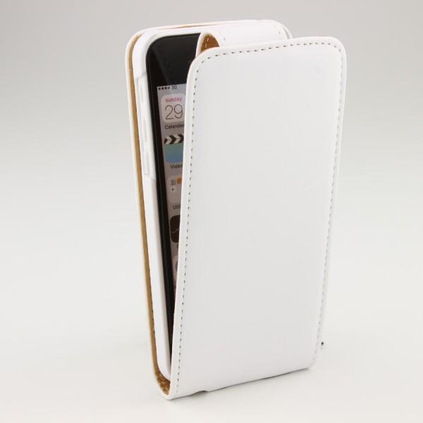 Urcover® Apple iPhone 5c Schutzhülle Flip Cover Kunststoff Case Schale Tasche
