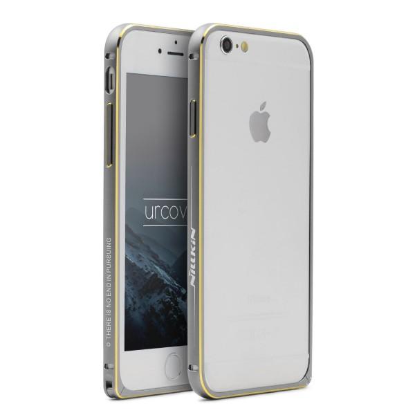 Urcover® Handy Schutz Hülle Apple iPhone 6 / 6s Alu Bumper Rahmen Hard Case Cover