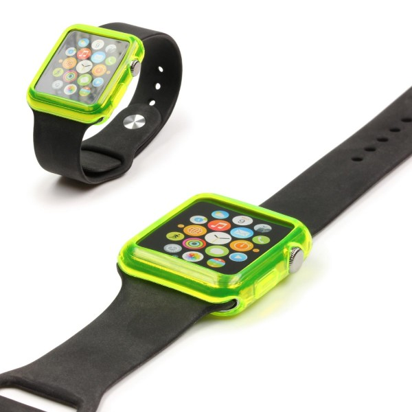 Urcover® Apple Watch 42mm Schutzhülle Silikon TPU Smart Watch Case Cover Silikon