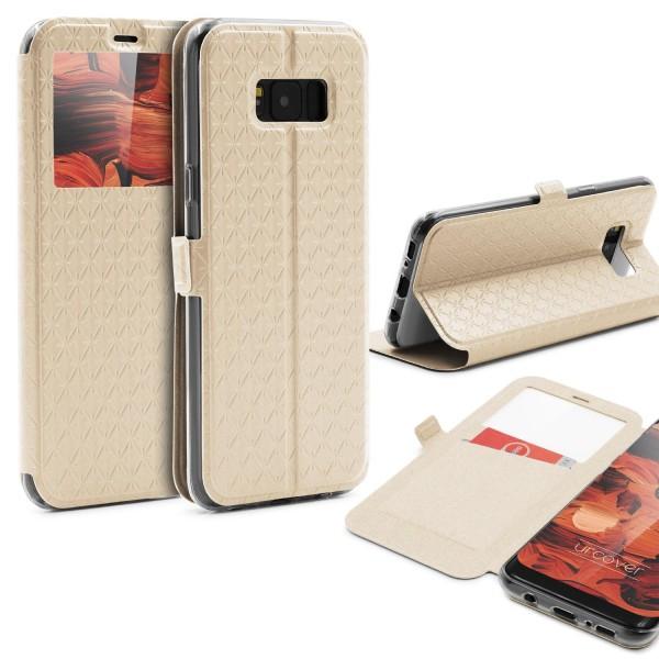 Samsung Galaxy S8 Plus Sichtfenster Wallet Schutzhülle View Cover Flip Case Etui