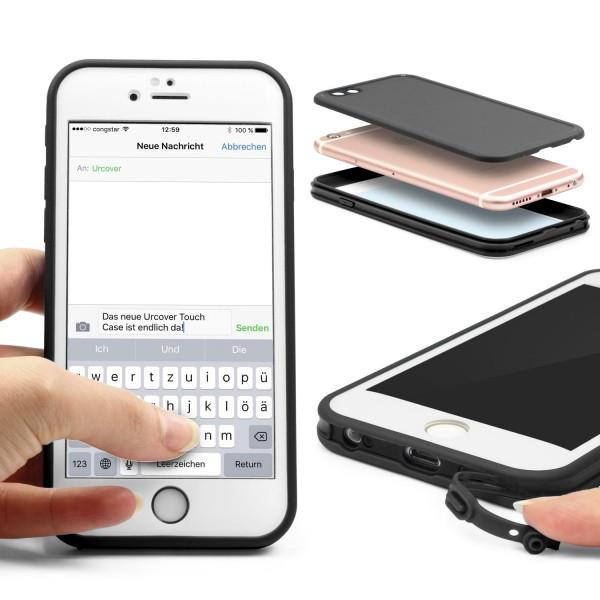 Apple iPhone 6 / 6s Touch Case 2016 Schutz Hülle Tasche Etui Bumper Rundum Case