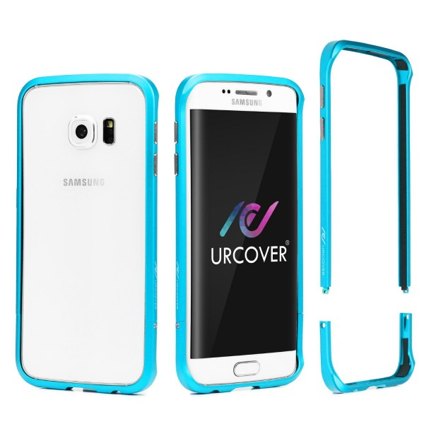 Samsung Galaxy S6 Edge Plus Alu Bumper Schutzhülle Schraubversion Schutz Rahmen