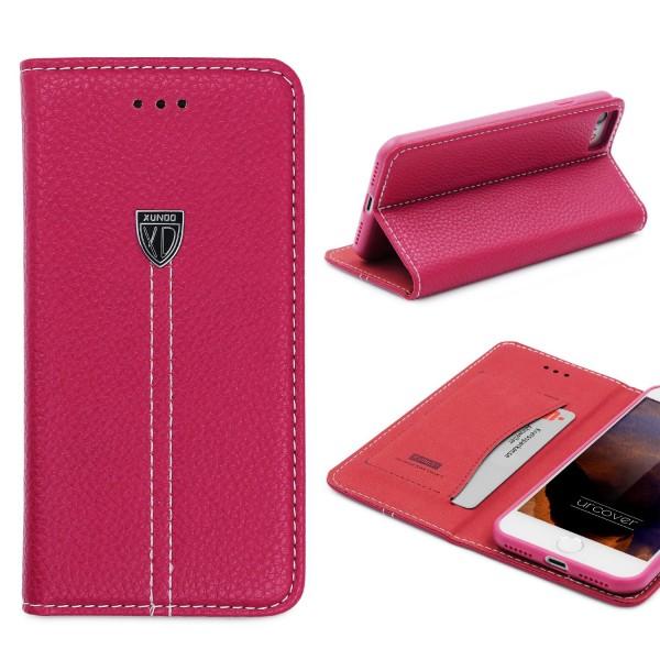 Apple iPhone 7 Schutz Hülle Wallet Case Flip Cover Kartenfach Schale Etui Schale