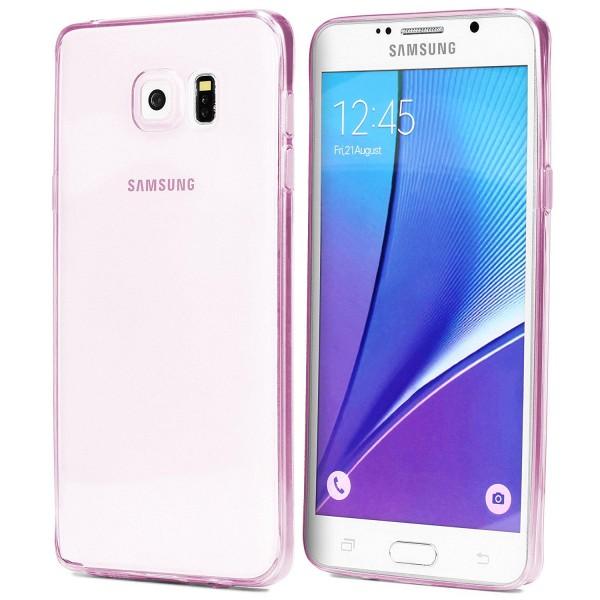 Samsung Galaxy Note 5 Slim Backcase Kamera Schutz Hülle Silikon Cover Case Etui